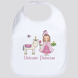 Unicorn Princess Bib
